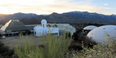 Biosphere2 overview at sunrise