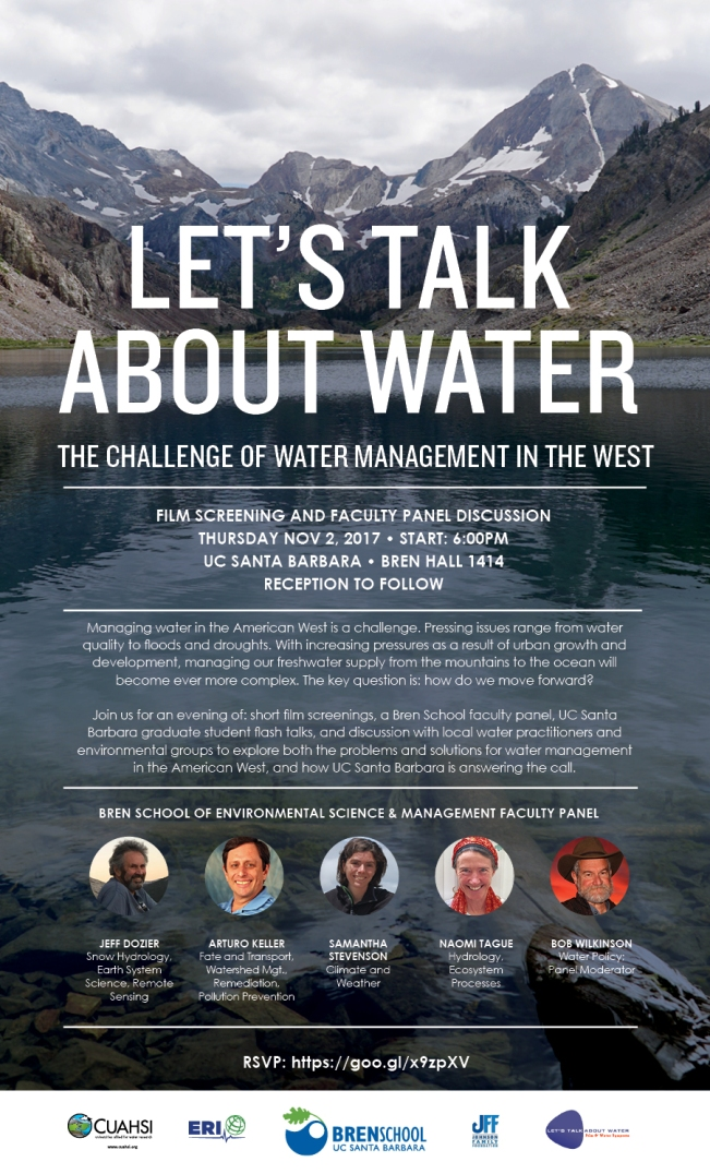 Let's Talk About Water – Film and Discussion   The Tague